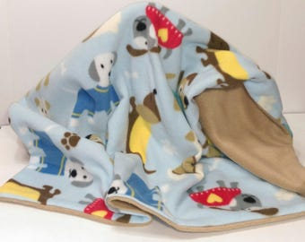 Dogs Double Layer Blanket