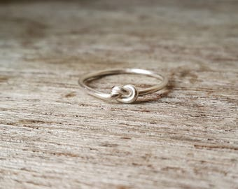 925 Sterling Silver Knot Ring