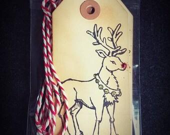 Christmas gift tags.
