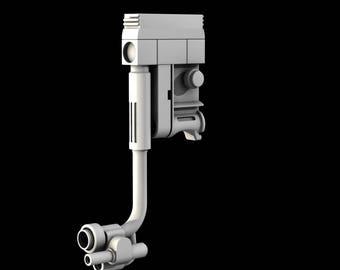 Star Wars jyn erso rebel Helmet Comlink 3D print model