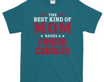 Finger Cobbler Mom Short-Sleeve T-Shirt