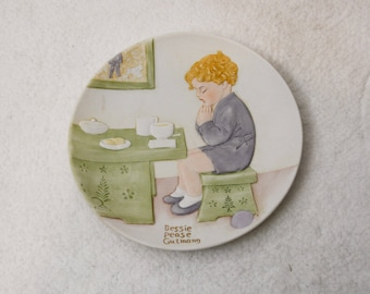 """Bessie Pease Gutmann Plates Once Upon A Childhood """"Thank You God"""""""