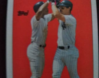 1987 Topps Record Breakers Don Mattingly #2 Very Good Condition