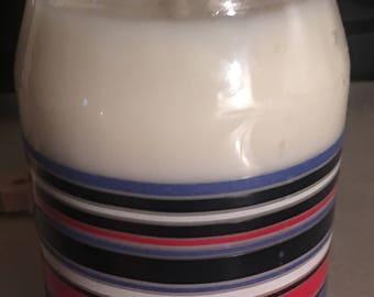 Fiesta Mason Jar Soy Candle