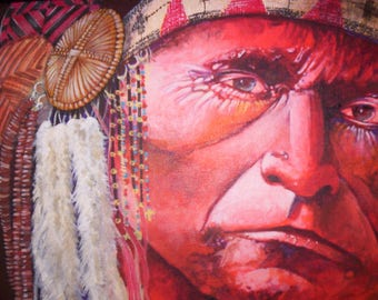 Original Paintings of Native Americans