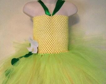 Frog princess tutu dress for girls - tutu dress - princess tutu