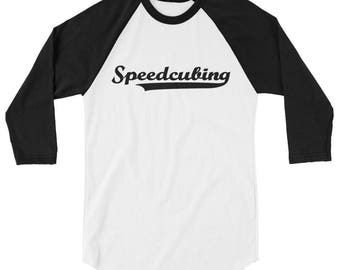 Speedcubing Baseball Style Shirt