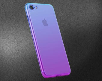 "iPhone Skin Wrap- ""Glacier"" Purple Iridescent"