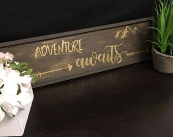 Customizeable wooden sign