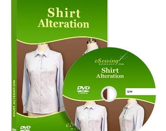 Shirt Alteration Video Lesson on DVD