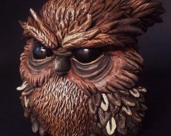Cornelius Grumpy Owl
