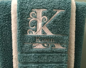 Personalized hand towels