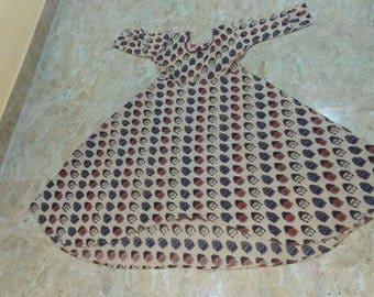 Hand printed Kalamkari Kurta/ Dress