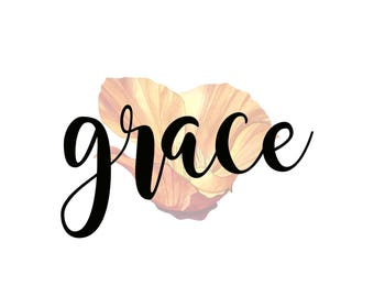 Grace/California Poppy