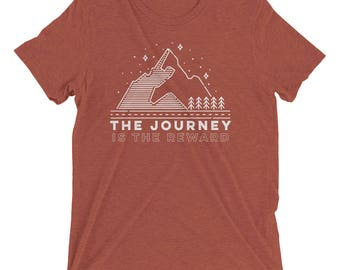 The Journey is the Reward - Short sleeve t-shirt