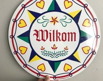 New Wilkom Zook's Dutch Novelties sign 1996