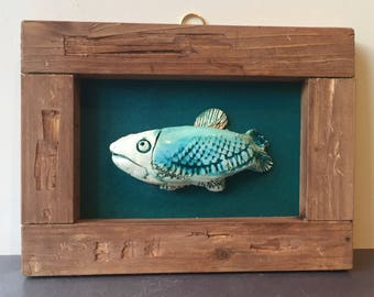 Beautiful Ceramic Fish Picture