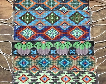 Beadwork Native American and Huichol