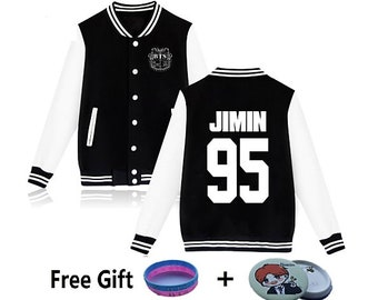 BTS Unisex Harajuku Hoodies, BTS Sweatshirt, Bangtan Boys, Bulletproof Boy Scouts, BTS Blood Sweat And Tears, Korean clothes, Free Gift