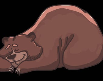 Sleeping Bear Graphic