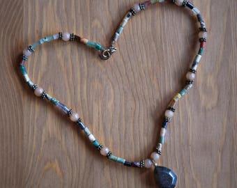 Rassart Black Heart necklace (pendants) - Personalized - Handmade artistic