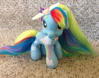 My little pony g3 rainbow dash