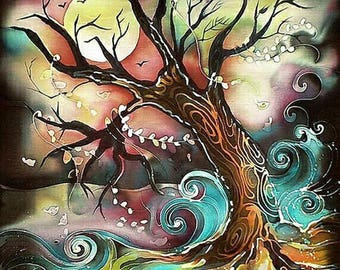 5D DIY Diamond Painting Tree of Life Mosaic Cross Stitch Full Square Drill 3D Diamond Painting kit Sticker Home Decoration Gifts