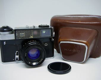 Kiev-5 Russian rangefinder camera with Jupiter-8NB lens