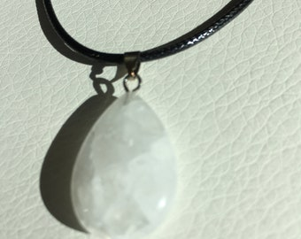 Soft White Healing Crystal