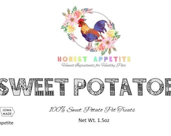 Sweet Potato Pet Treats