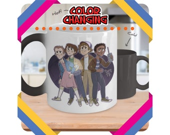 Stranger Things Mug, Stranger Things Gift, Coffee Mug, Stranger Things Cup, Stranger Things Fan, Eleven, Mugs, Upside Down, Demogorgon