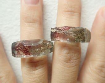 Seaweed rings, size 6
