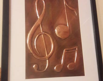 Handcrafted Music notes