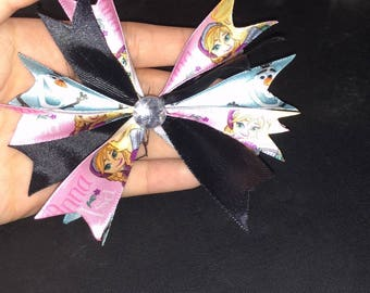 Frozen Spiked Hair Bow