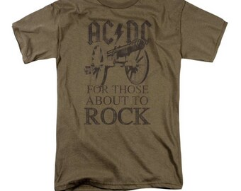 AC/DC - For Those About To Rock Short Sleeve