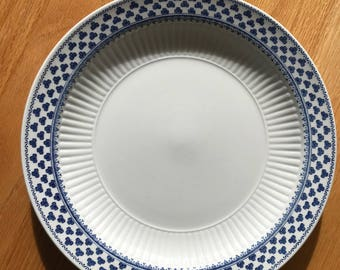 "10"" Brentwood pattern English Ironstone by Adams.  Strong, elegant, no chips! Qty 2!"