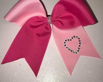 Valentine's Day Tick Tock Bow