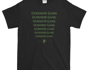Guinness Gang T-shirt St. Patricks Day, Lucky Irish Stout, Lil Pump