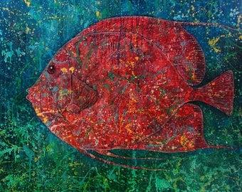 Supantono Suwarno, 1964  - One Red Fish