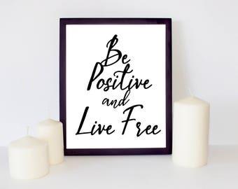 Wall decor art printable, Inspirational quote, Positive Wall Decor Printable, Wall Art, Decor quote, Inspirational Wall Art, wall art quote