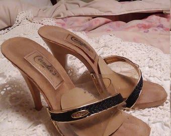 Candies tm 1976 High Heel Sandals