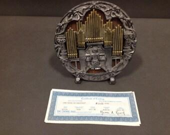 Michael A Ricker Cast Metal Sculpture Certified