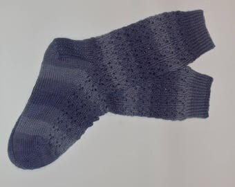 Lavender Lace Socks
