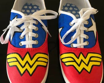 Wonder Woman Inspired Shoes