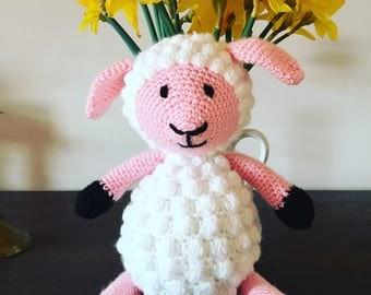 Crochet Sheep Toy Deco