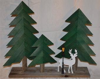 Wood Tree Scenes