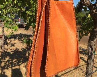 Genuine leather women's shoulder bag