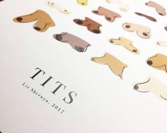Tits Print
