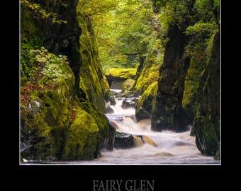 Fairy Glen Print. Framed.