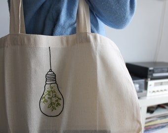 Green Bag-light bulb